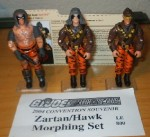 2004 Zartan Morphing Set